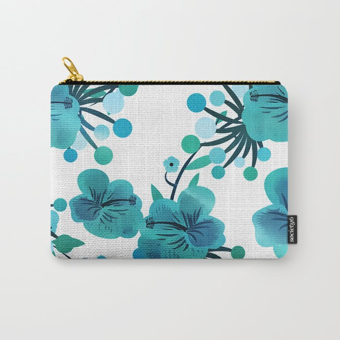 Turquoise Delight Carry-All Pouch