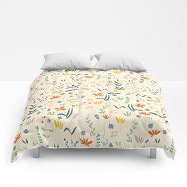 Retro Botanical Comforters