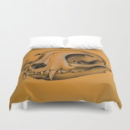 Cat's skull Duvet Cover