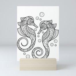 Seahorse - Sea Horse Mini Art Print