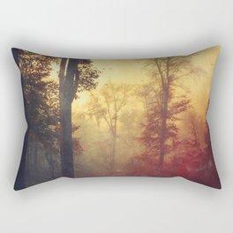Quite Morning Rectangular Pillow