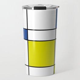 Mondrian 1 Travel Mug