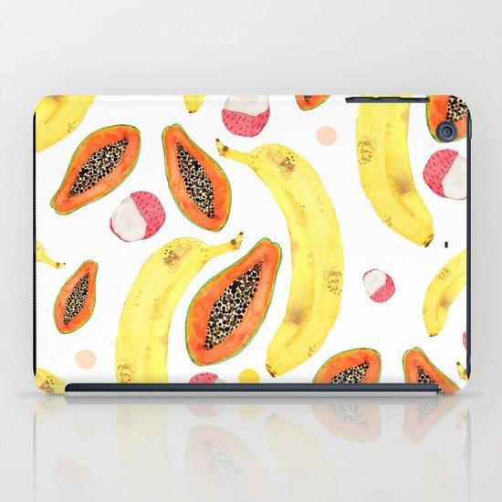 tropical juice (white) iPad Case
