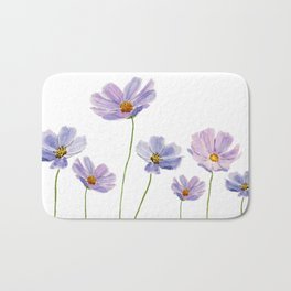 purple cosmos 2 Bath Mat