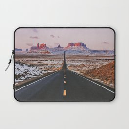 Monument Valley Sunrise Laptop Sleeve