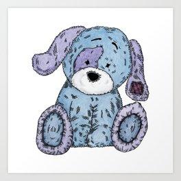 Cuddly Dog Art Print