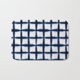 Shibori Squares Bath Mat