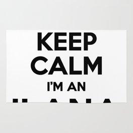 I cant keep calm I am an ILANA Rug