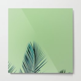 Keep Palm and carry on. Metal Print