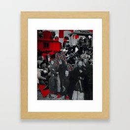 Im·mi·grants Framed Art Print