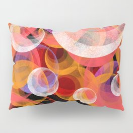 Solar System Abstract Pillow Sham