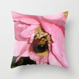 Fuzzy Buzzy Throw Pillow