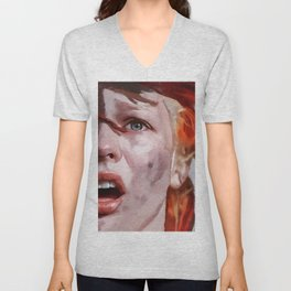 Leeloo Played By Milla Jovovich - The Fifth Element Unisex V-Neck