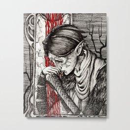 Questioning beliefs Metal Print
