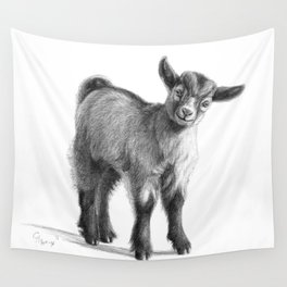 Goat baby G097 Wall Tapestry