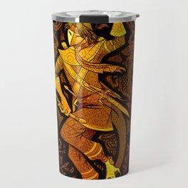 Serpent Warrior Travel Mug