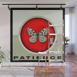 Fruit of the Spirit, Patience (Red & Ecru) Wall Mural