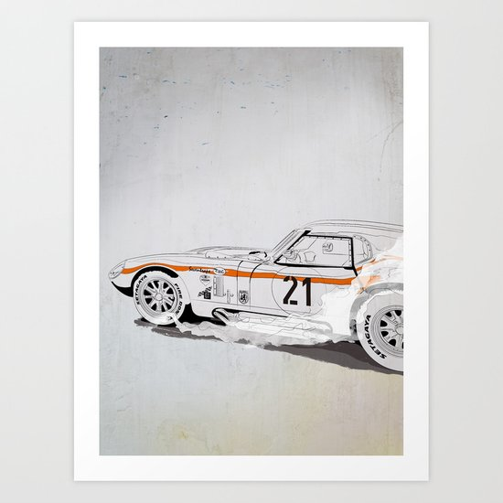 Daytona Coupe_recollection Art Print