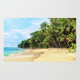 Tropical Beach - Landscape Nature Photography Rug