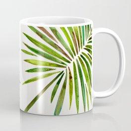 Tropical Fan Palm – Green Coffee Mug