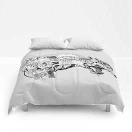 Roaring beast Comforters
