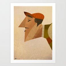 Italo Art Print