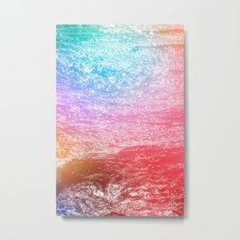 There's Magic in the Ocean Metal Print