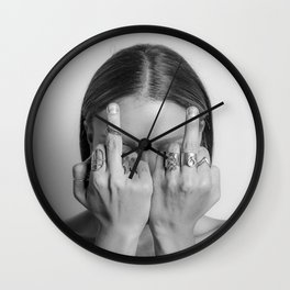 Anti-Hate Wall Clock