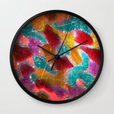 Teeming Wall Clock