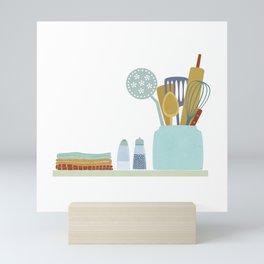 The Kitchen Shelf Mini Art Print