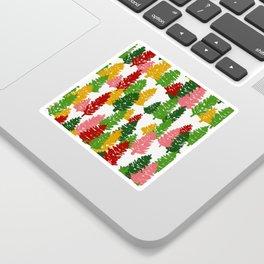 Scribble Trees Sticker