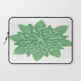Emerald Flower Laptop Sleeve
