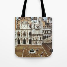 Doge's Palace Courtyard Tote Bag