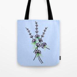 Lavender Sprigs Tote Bag