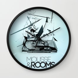 Mousse & Rooms Wall Clock