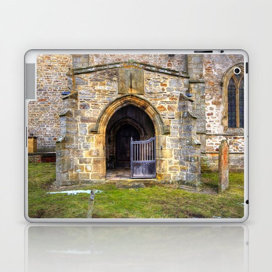 Holy Trinity Church, Wensley Laptop & iPad Skin