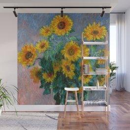 Bouquet of Sunflowers - Claude Monet Wall Mural