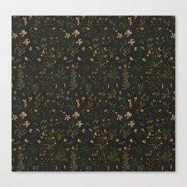 Old World Florals Canvas Print
