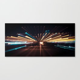Night Speed Canvas Print