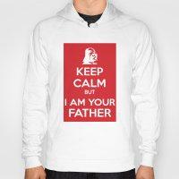 keep calm Hoodies featuring Keep Calm by ubertwigg