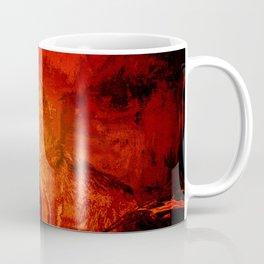 Fire Wolf Coffee Mug