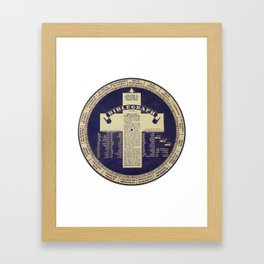The Biblegraph Framed Art Print