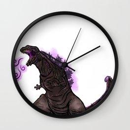 Shin Zilla Wall Clock