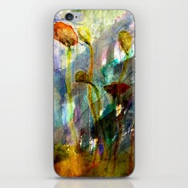 flowers on the field iPhone Skin