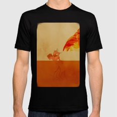 Avatar Roku Black Mens Fitted Tee LARGE