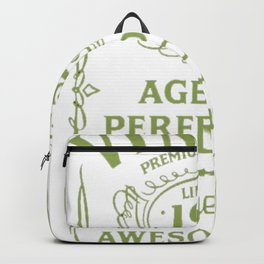 Green-Vintage-Limited-1922-Edition---95th-Birthday-Gift Backpack