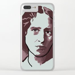 George Eliot Clear iPhone Case