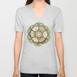 Earth Dreaming Unisex V-Neck