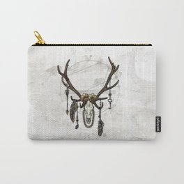Bestial Crowns: The Elk Carry-All Pouch