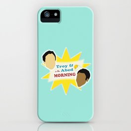 Community Troy & Abed in the Morning iPhone Case